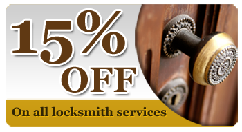 15% off on all locksmith services